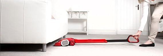 Hoover CV216RB CL-Everyday Color Rojo met/álico y Negro Escoba sin Cable 0,8 litros