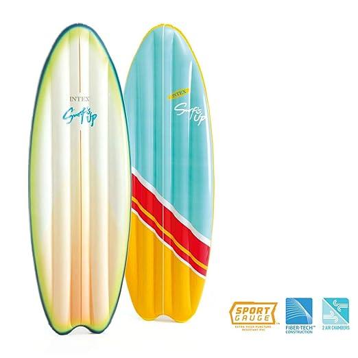 Intex Tabla Surf Hinchable Kit Reparación Colchoneta ...