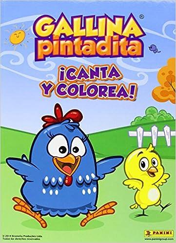 Gallina Pintadita Canta Y Colorea Pinta Y Colorea Amazones