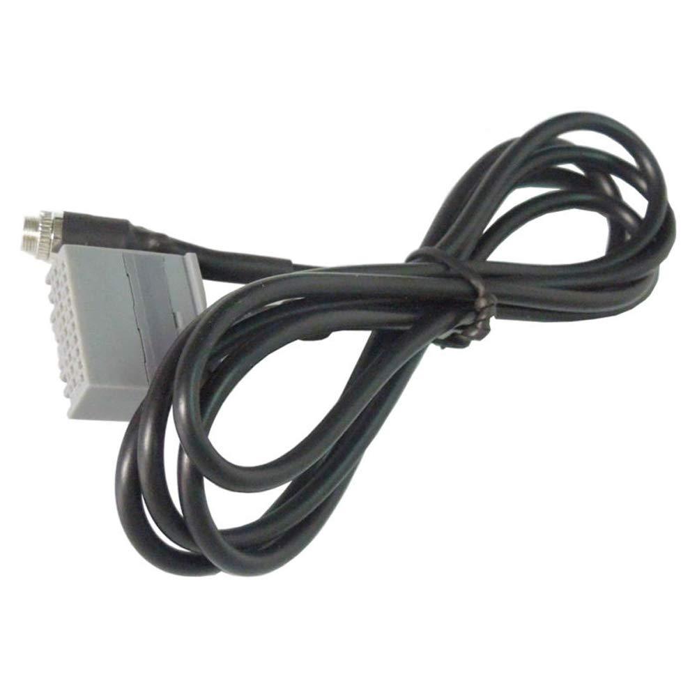 Auto cavo adattatore audio AUX 3.5/mm femmina Fit Honda Accord Civic CRV Apple iPhone iPod