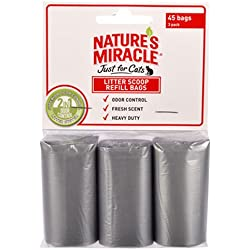 Nature's Miracle NM-5412 45 Count Litter Scoop Refill Bags