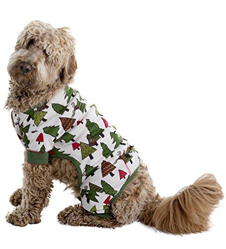 Lazy One No Peeking! Christmas Dog Flapjack - Matching pa...