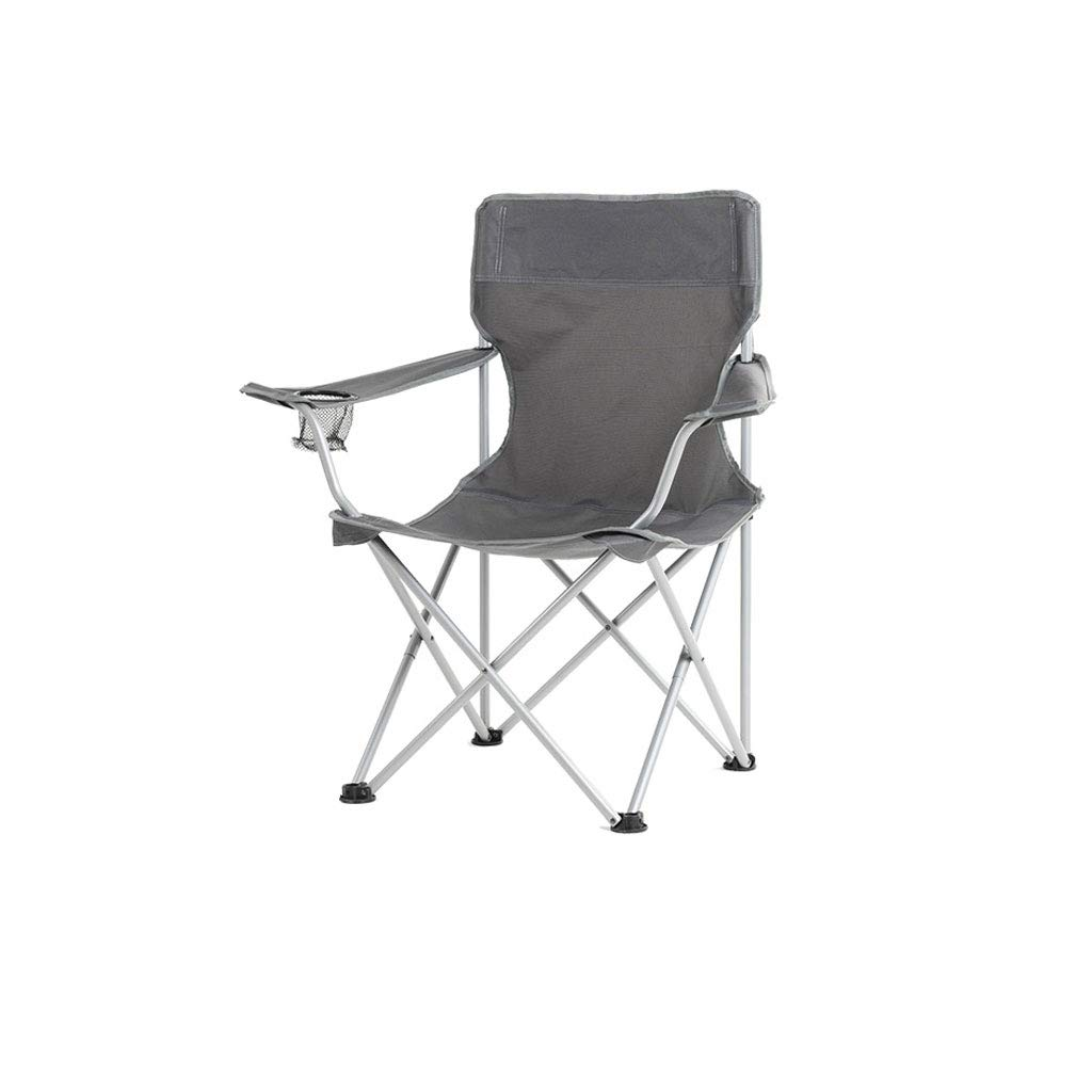 Kaiyu Outdoor Klappstuhl Camping Stuhl Outdoor Tragbare Stuhl Strand Stuhl Angeln Stuhl Mittagessen Rest Stuhl 50x50x90 cm