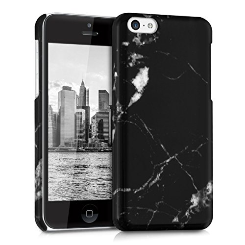 kwmobile Hard case Design marble for Apple iPhone 5C in ...