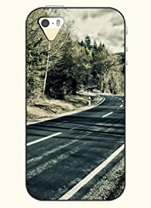 OOFIT Phone Case Design with Highway for Apple iPhone 5 5s 5g