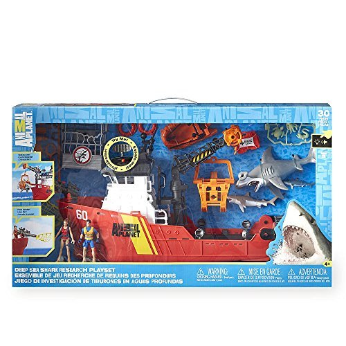 Animal Planet Deep Sea Shark Research - Playset Animal Planet