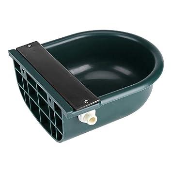 4L Float Bowl plástico, válvula de Flotador automática Agua Feede para Caballos Cabras ovejas Ganado: Amazon.es: Productos para mascotas