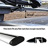 XCAR Folding Kayak Rack 4pcs/Set Black Rooftop