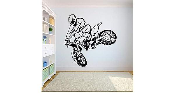 Geiqianjiumai Vinilo para Pared Motocross SUV Sport Room ...