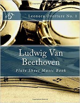 Amazon com: Ludwig Van Beethoven - Flute Sheet Music Book