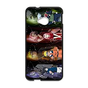 Naruto Cartoon Anime Black HTC M7 case