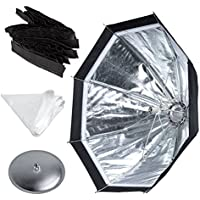 Godox Ad-s7 Ad360 Ad180 Flash Speedlite 45cm Umbrella Design Honeycomb Grid Octagonal Softbox, Multifuctional Ad360 Softbox Accessories (One Softbox, One Diffusion, One Honeycomb, One Aluminum Disc)