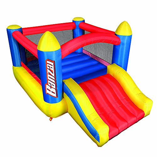 BANZAI Big Bounce Slide 'N Bounce, Multicolor
