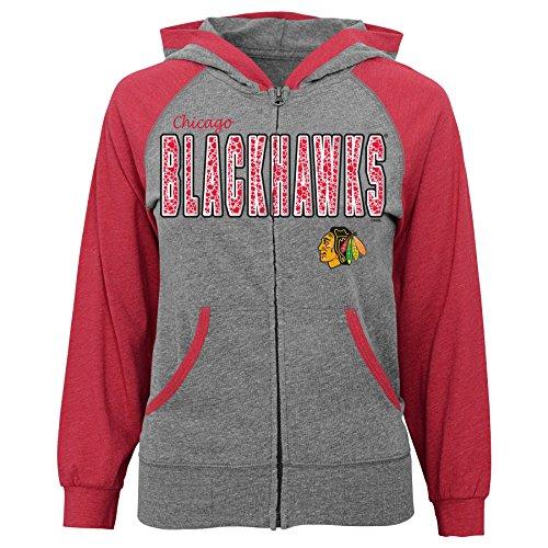 NHL Chicago Blackhawks Soft Hands Full Zip Hood