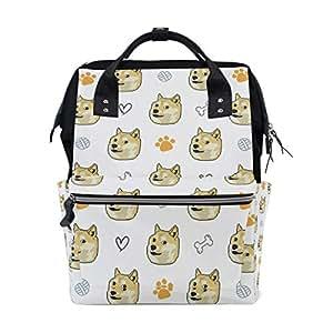 Amazon com : Stylish Diaper Bag Shiba Inus Doggo Meme