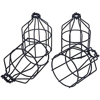 Metal Lamp Guard Fashionclubs Industrial Bulb Guard Vintage Lamp