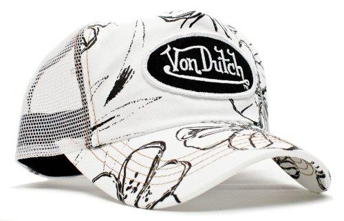 von-dutch-white-hawaiian-unisex-adult-trucker-hat-one-size-white-white