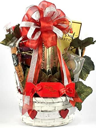 Image Unavailable. Image not available for. Color Gift Basket Village Date Night ...  sc 1 st  Amazon.com & Amazon.com : Gift Basket Village Date Night Romantic Dinner Gift ...