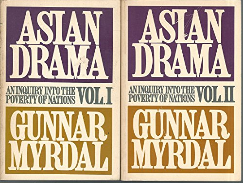 Books : Asian Drama, An Inquiry Into The Poverty OF Nations Volumes I, II and III (Volumes I, II and III)