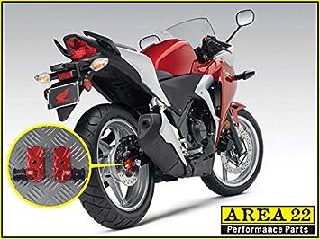 Motorcycle CNC Rear Swingarm Spool Slider Adapters Mount for Honda CBR250 CBR300