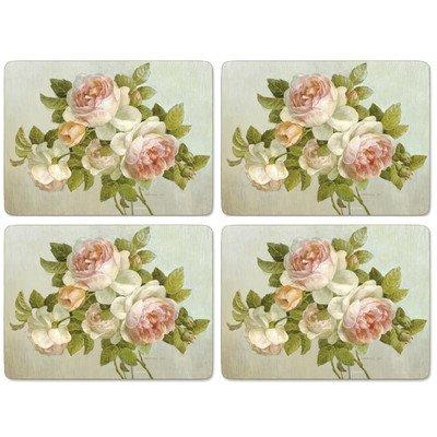 Floral Collection Rose Antique (Pimpernel Antique Roses Placemats - 4 Count)