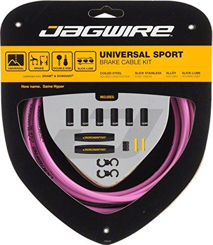 Replace Bike Brake Cables - Jagwire Universal Sport Brake Cable Kit Pink