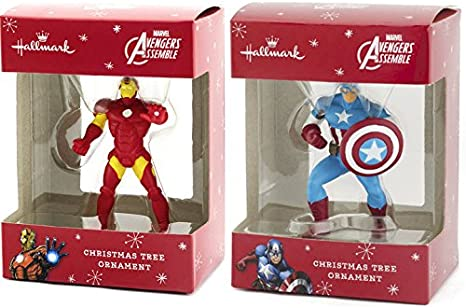 Marvel Avengers Metal Ornament New In Box 2019 Hallmark Ornament IRON MAN