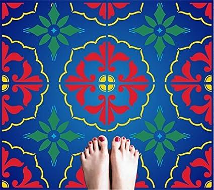 Amazoncom Mexican Tile Stencil X Inch Tile L - 4 inch mexican tile