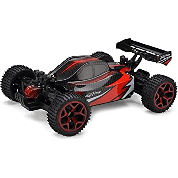 Cheerwing 1:18 Off Road Dune Buggy 2.4Ghz 4WD High Speed Remote Control Vehicle RC Car Red