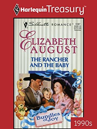 book cover of The Rancher and the Baby