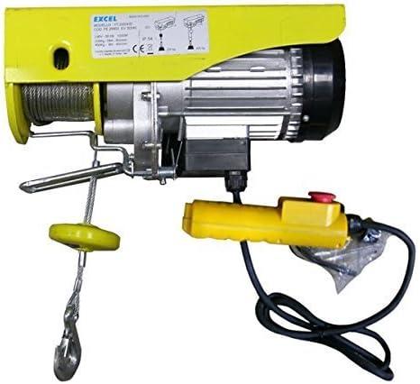 Excel cdf02451Elektrischer Flaschenzug, gelb