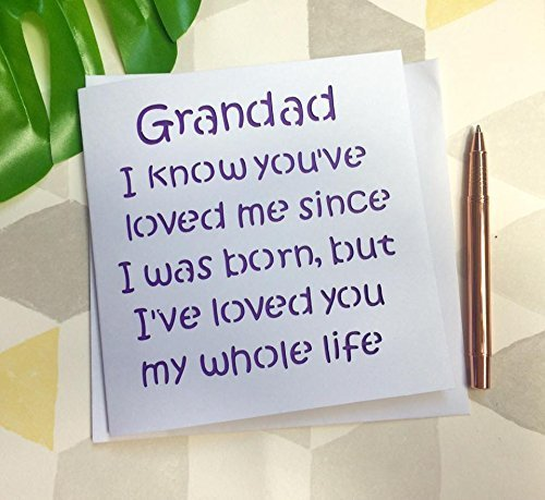 Fathers Day Card Or Birthday For Grandad Grandfather Special