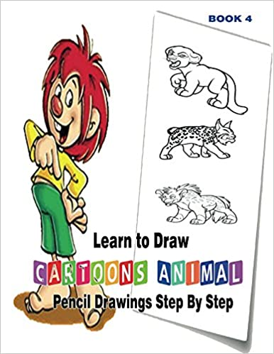 Learn To Draw Cartoons Pencil Drawings Step By Step Book Ebooks