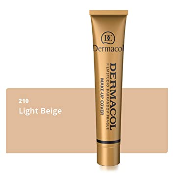 Dermacol Make-up Cover - Waterproof Hypoallergenic Foundation 30g 100%  Original Guaranteed