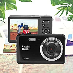 517PxNfC4fL. SS300  - 3 inch TFT LCD Rechargeable HD Mini Digital Camera,Vmotal Video Camera Digital Students Cameras with 8X Digital Zoom / 12 MP/HD Compact Camera for Kids/Beginners/Seniors