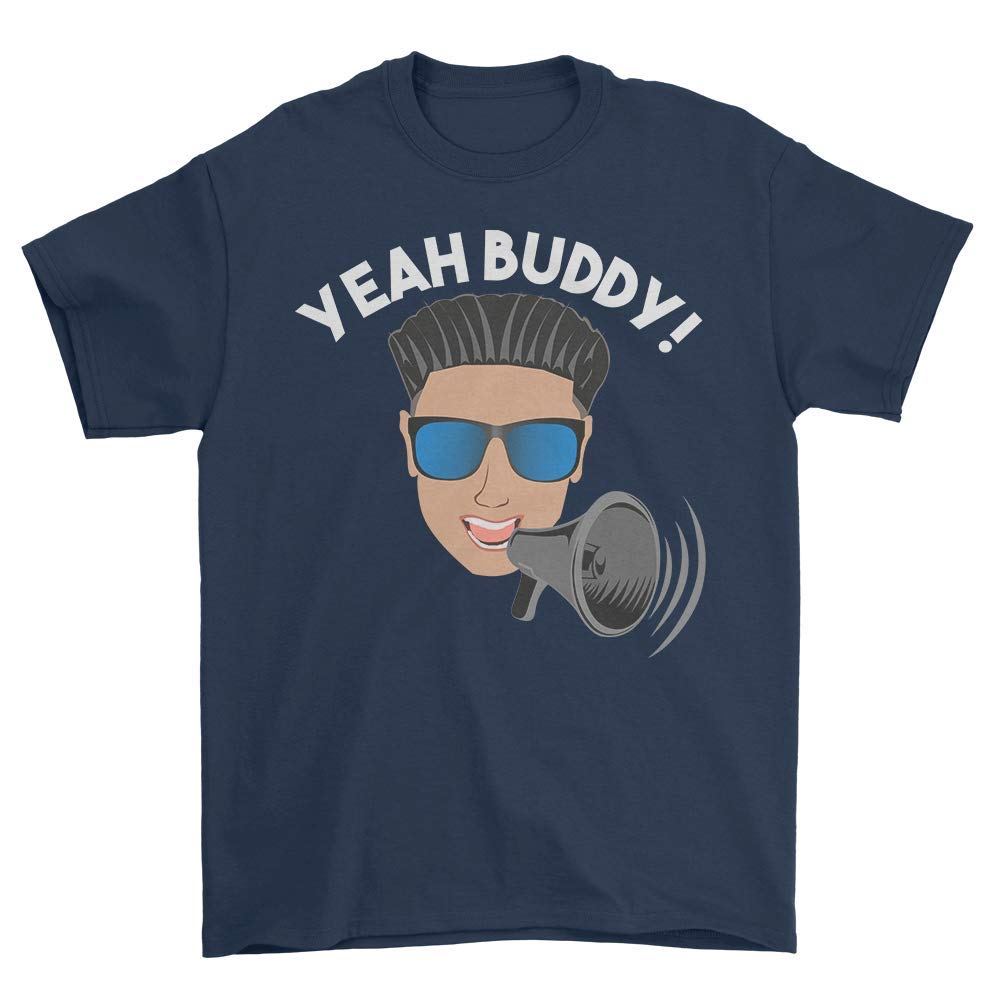 516dd1c6f9c Yeah Buddy DJ Pauly D on The Megaphone T Shirt