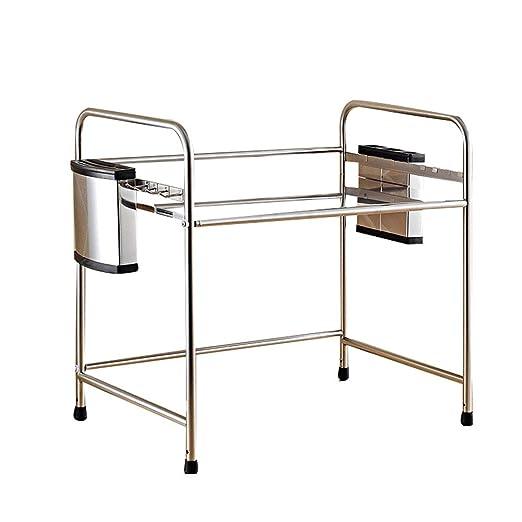 Estante esquina Cocina horno de microondas parrilla 304 de acero ...