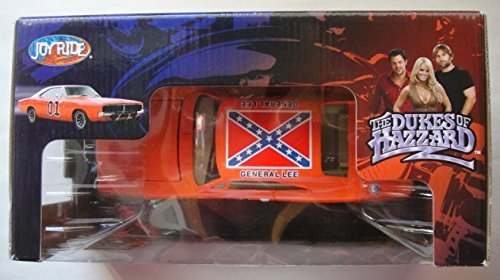 JOY RIDE DUKES OF HAZZARD GENERAL LEE 1969 DODGE CHARGER 1: 25 SCALE DIE CAST 25 1969 Dodge Charger