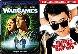 Ferris Bueller's Day Off & War Games DVD Set double feature bundle Matthew Broderick