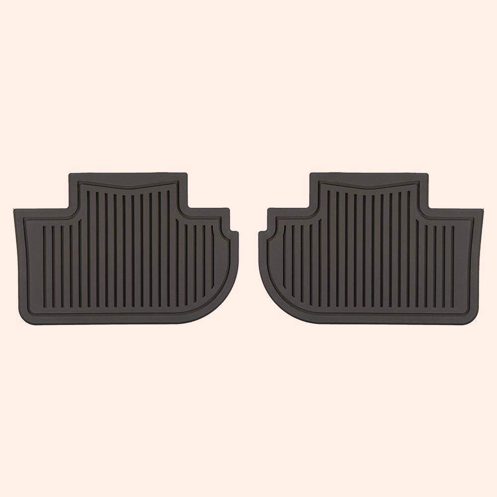 Fit for NеW Rear Premium All Weather Rubber Flооr Mats 08-15 Сadіllaс CTS 19159598