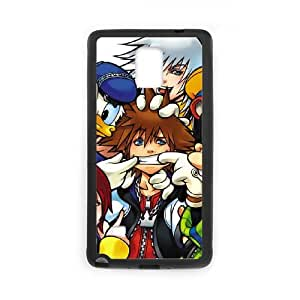 Kingdom Hearts Samsung Galaxy Note 4 Cell Phone Case Black SA9675993