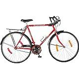 Hero Hawk 27T Single Speed Cycle (Red)