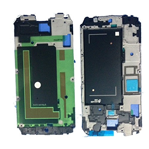 New Silver Front LCD Mid Frame Bezel Housing Replacement Part for Samsung Galaxy S5 V (G900P/G900V)