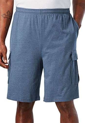 KingSize Mens Big & Tall Lightweight Cargo Shorts