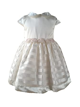dbc3623eb7ff3 EMC - Robe de baptême - Trapèze - Bébé (fille) 0 à 24 mois Ecru ...