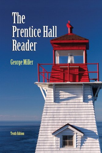 Book cover from The Prentice Hall Reader (10th Edition)by George E. Miller