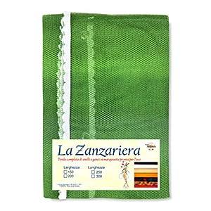 Tex family Tenda Rete ZANZARIERA da Esterno Giardino Balcone sfumato Verde CM.150X250 1 spesavip