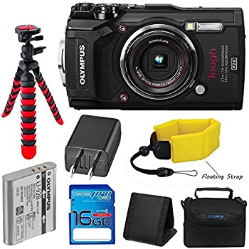 Olympus TG-5 Waterproof Camera with 3-Inch LCD (Black) with I3ePro 16GB  Class 10 SD Card 0ab1ebb8a901d
