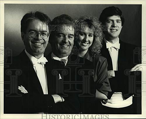 (Vintage Photos 1988 Press Photo Oxford String Quartet Members -)