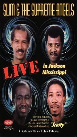 Amazoncom Live In Jackson Vhs Slim The Supreme Angels